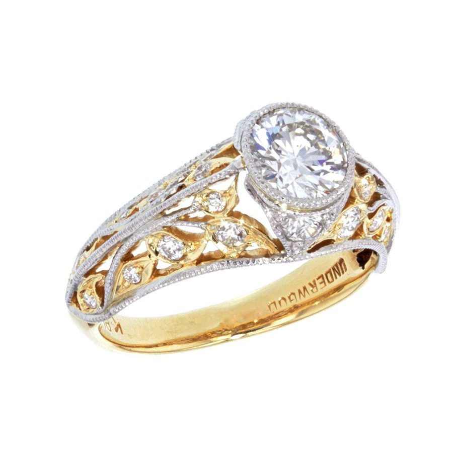 Solitaire Diamond Rings Under