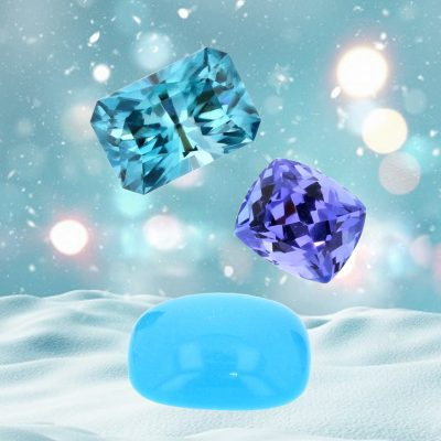 December's Birthstone Trio